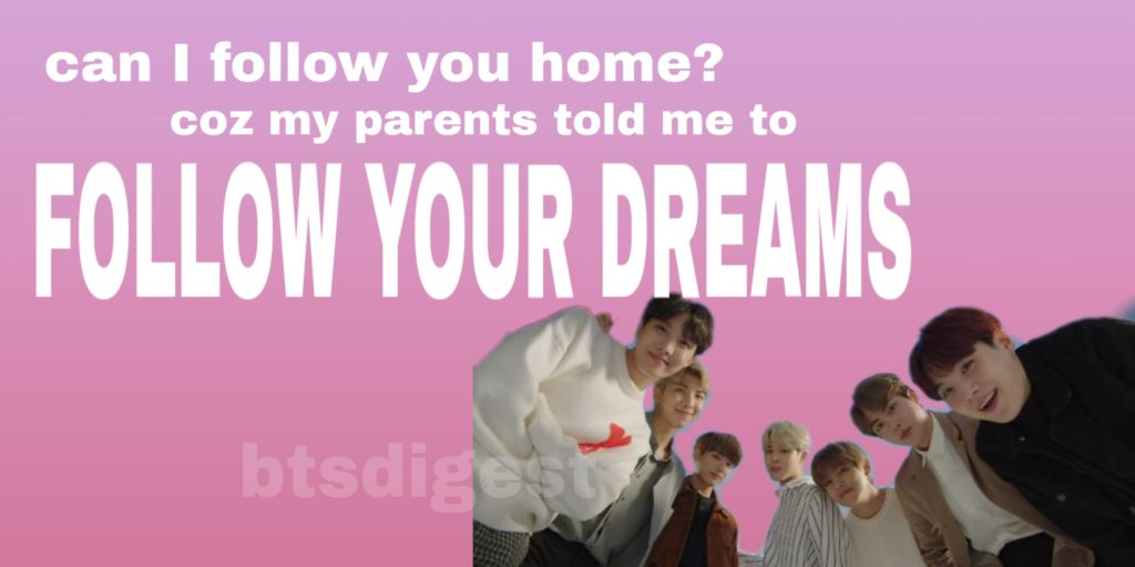 dreams come true bts valentines day cards