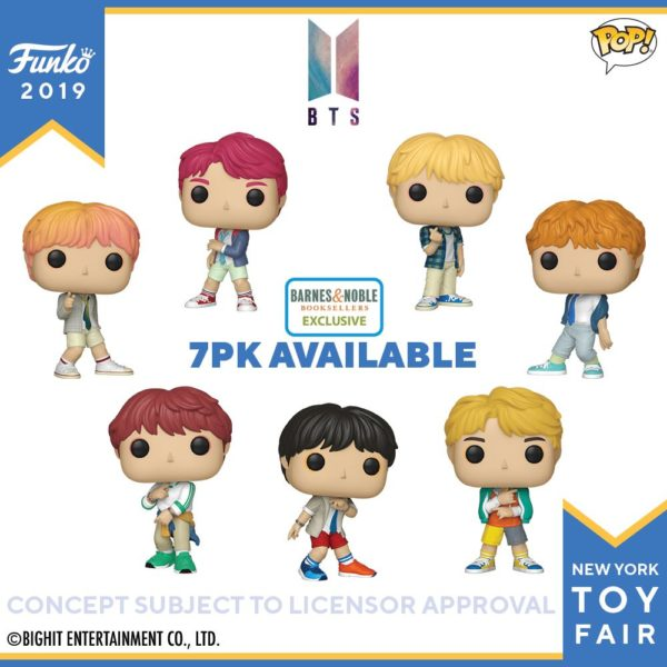 BTS Funko POP! – Where To Buy Them