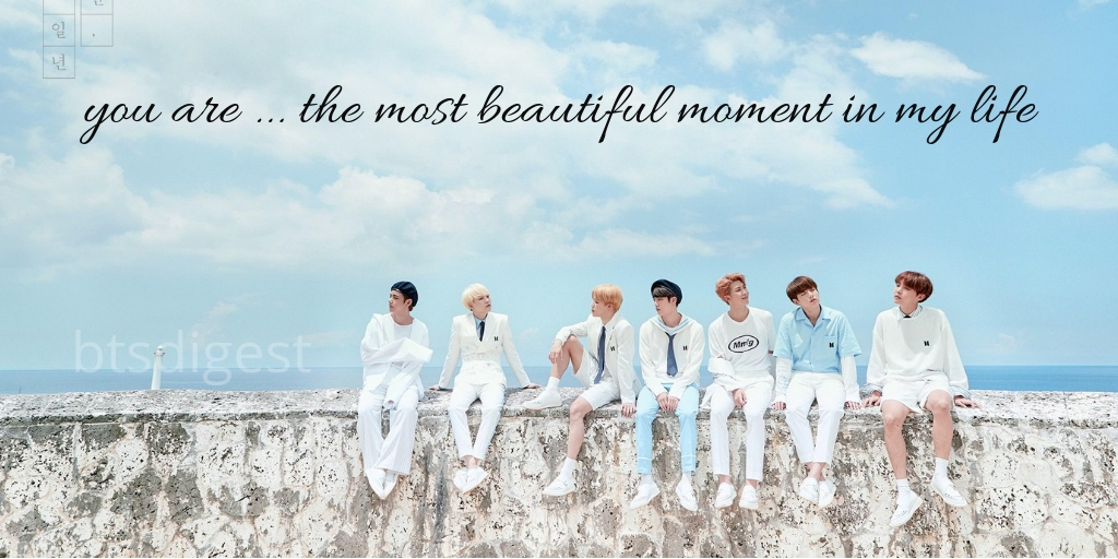 most beautiful moment in life bts pick up lines