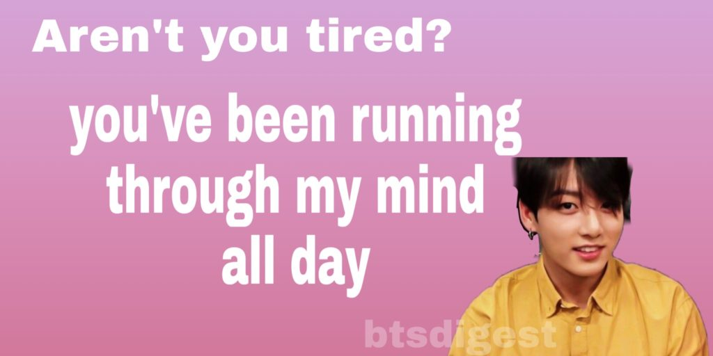 running bts valentines day cards
