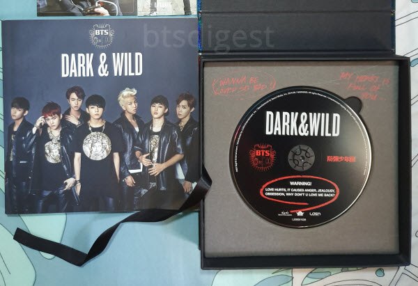 DARK & WILD Album Info and Inclusions
