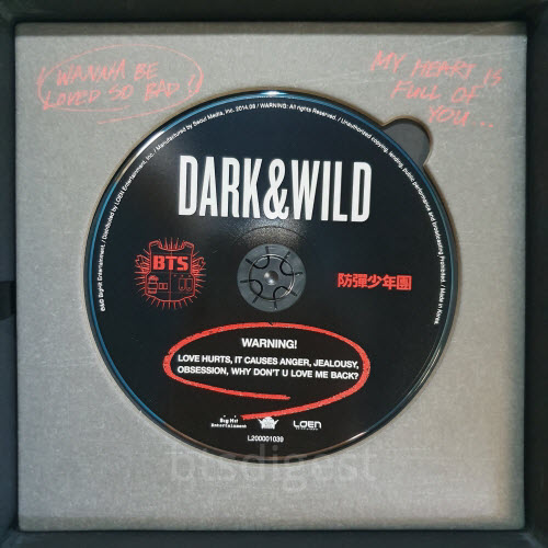 bts dark and wild cd