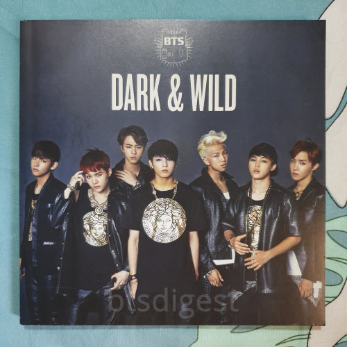 bts dark and wild photobook