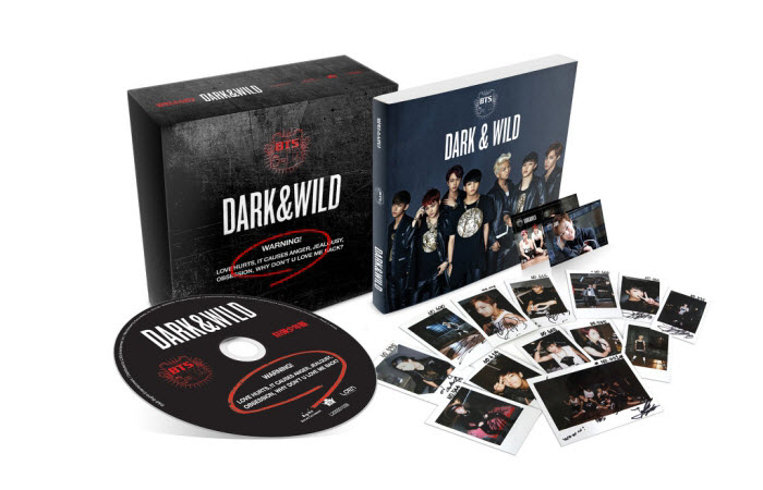 dark and wild album polaroid limited edition