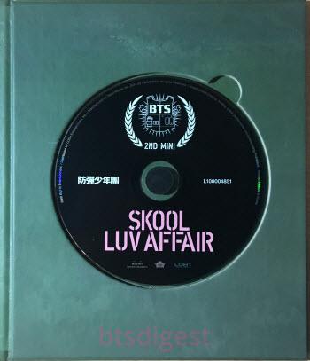 skool luv affair album cd bts