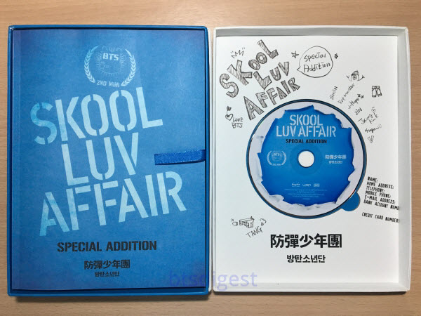 Skool Luv Affair Album Info and Inclusions